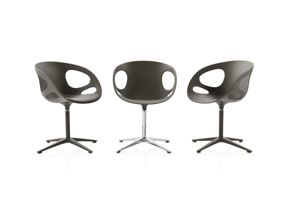 Plastic White, Polished aluminium,Fritz Hansen,Seating,chair,furniture
