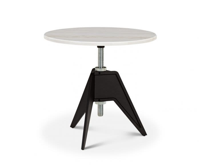 White Marble Top, 60cm,Tom Dixon,Tables & Desks,coffee table,end table,furniture,outdoor table,table