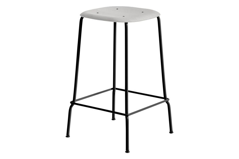 Wood Black Oak / Metal Black,Hay,Stools,furniture,stool,table