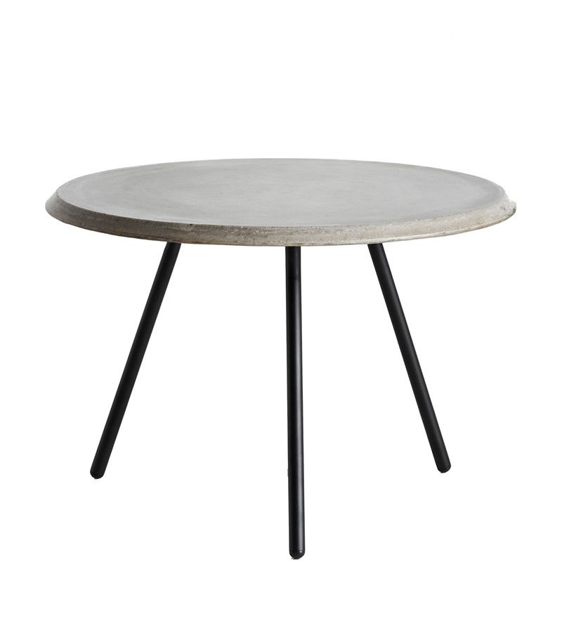 Concrete, 44, 60,WOUD,Coffee & Side Tables,coffee table,end table,furniture,outdoor table,table