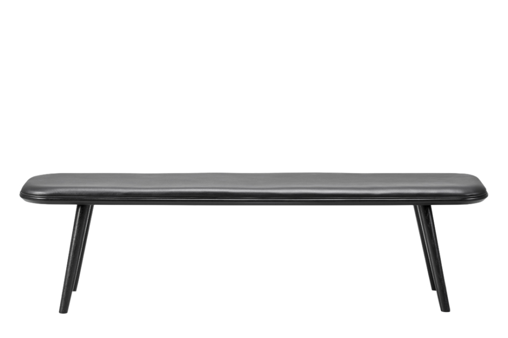 Remix 2 113, Black Lacquered,Fredericia,Benches,bench,furniture,outdoor bench,rectangle,table