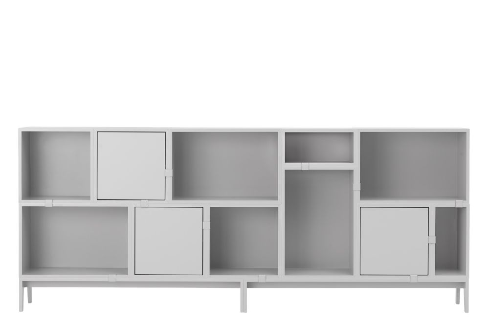 Oak,Muuto,Bookcases & Shelves,bookcase,cupboard,furniture,shelf,shelving,sideboard