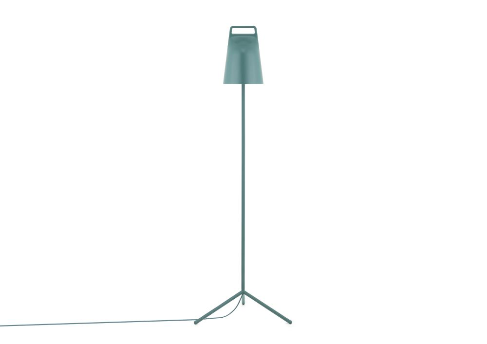 White,Normann Copenhagen,Floor Lamps,lamp,light fixture