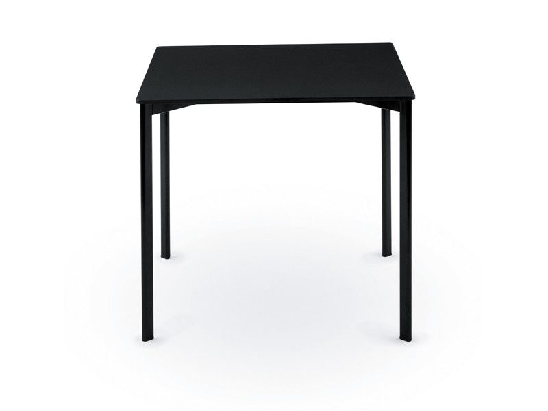 White Frame and Top,Magis Design,Dining Tables,end table,furniture,outdoor table,rectangle,table