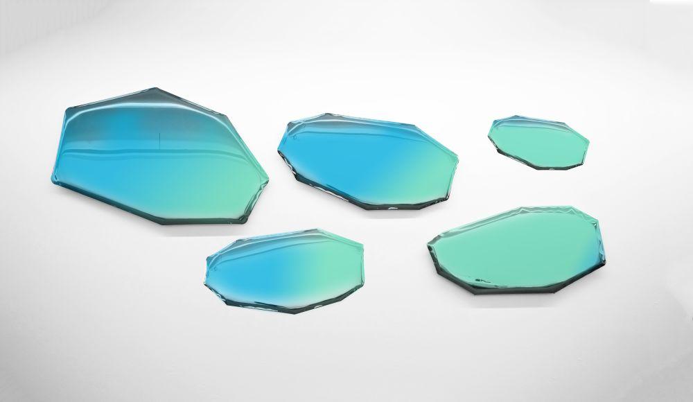 Zieta,Mirrors,aqua,blue,green,teal,turquoise