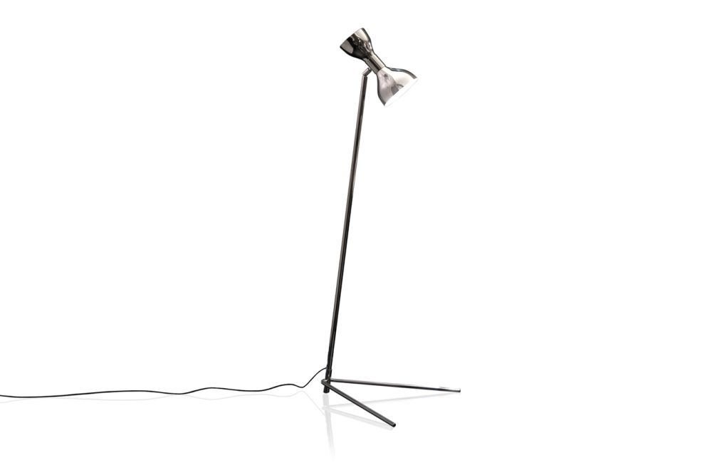 Polished White,Contardi Lighting,Floor Lamps,light fixture,lighting,microphone,microphone stand,product