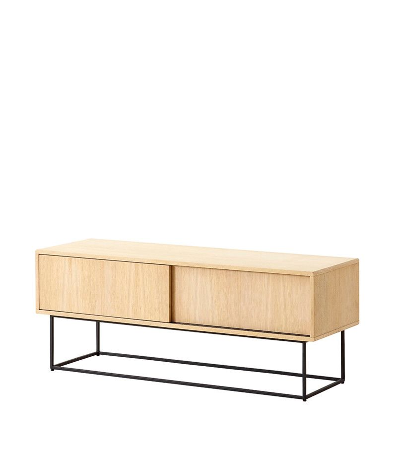 Black painted oak, high,WOUD,Cabinets & Sideboards,coffee table,furniture,rectangle,shelf,sideboard,sofa tables,table