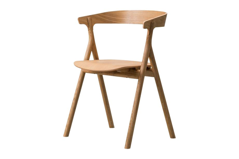 Oak Standard Lacquered,Fredericia,Seating,chair,furniture,table,wood