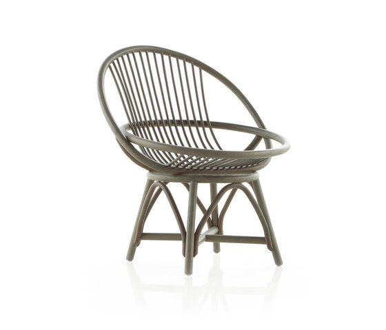 70s reedited Radial Armchair by Expormim by Expormim