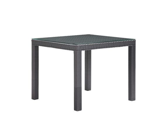 Aegean 90cm Square Table by Akula Living by Akula Living