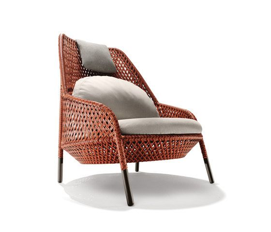 Ahnda Wing chair by DEDON by DEDON