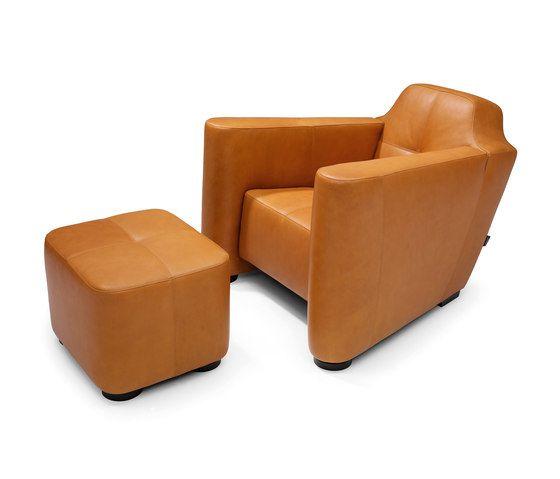 Alhambra armchair/footstool by Linteloo by Linteloo
