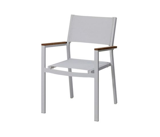 Ascent Stacking Chair With Arms by Akula Living by Akula Living