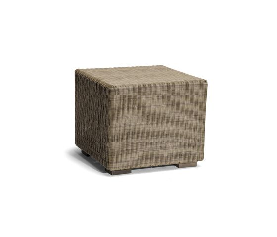 Aspen small footstool/sidetable by Manutti by Manutti
