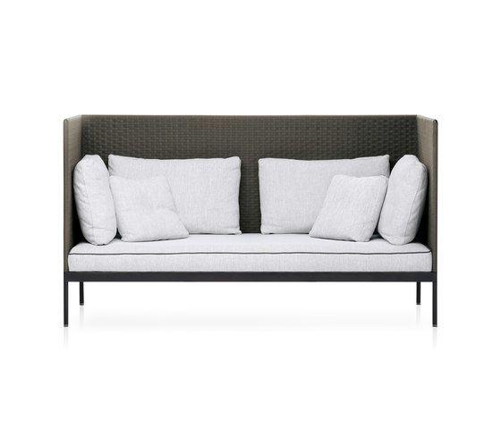BASKET high back sofa by Roda by Roda