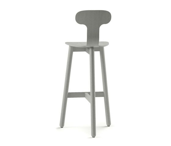 Beech Bar Stool 75 high by DUM by DUM