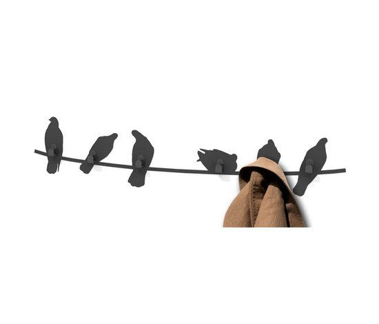 Birds on Wire coat rack by Covo by Covo