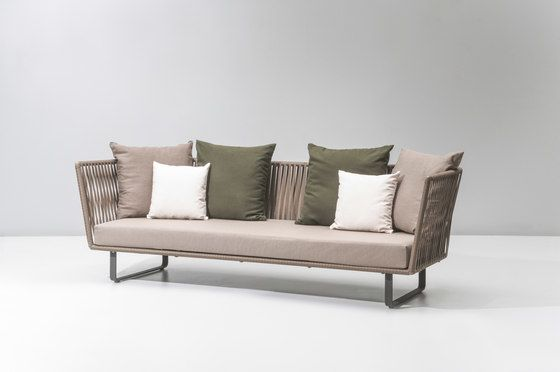 Bitta 3 Seater Sofa By Kettal By Kettal Clippings