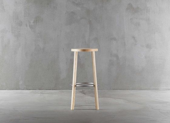 Blocco stool 8500-00 by Plank by Plank