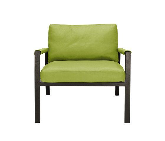 Bohème Lounge Chair by Neue Wiener Werkstätte by Neue Wiener Werkstätte