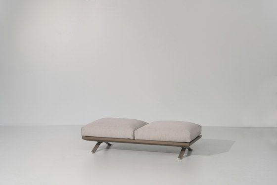 Boma bench 2-seater by KETTAL by KETTAL