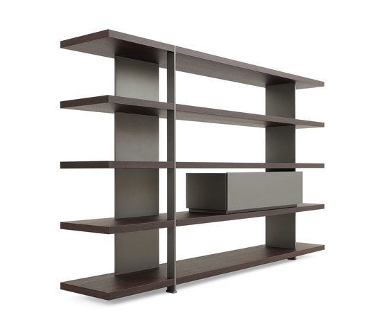 Bristol System Bookcase by Poliform by Poliform
