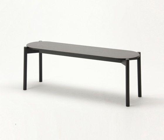 Castor Dining Bench by Karimoku New Standard by Karimoku New Standard