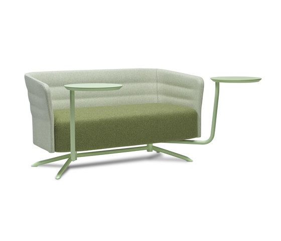 Cell 72 sofa with 4-spoke base by SitLand by SitLand