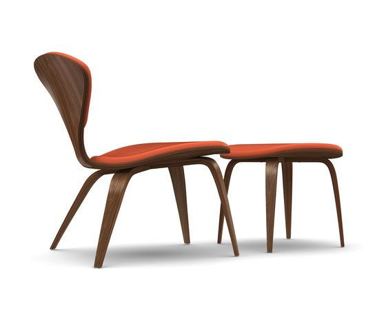 Cherner Lounge Chair and Ottoman by Cherner by Cherner