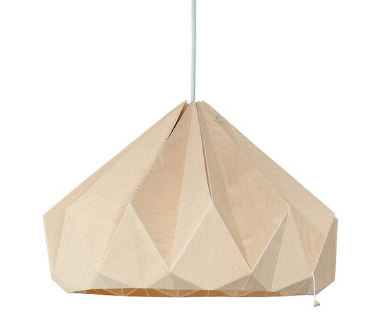 Chestnut – Wooden Origami by Studio Snowpuppe by Studio Snowpuppe