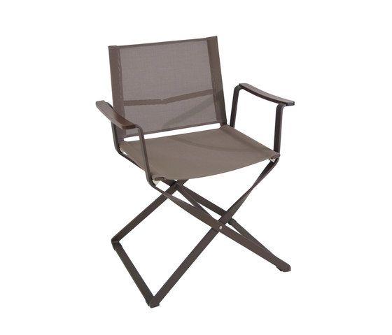Ciak folding armchair by EMU