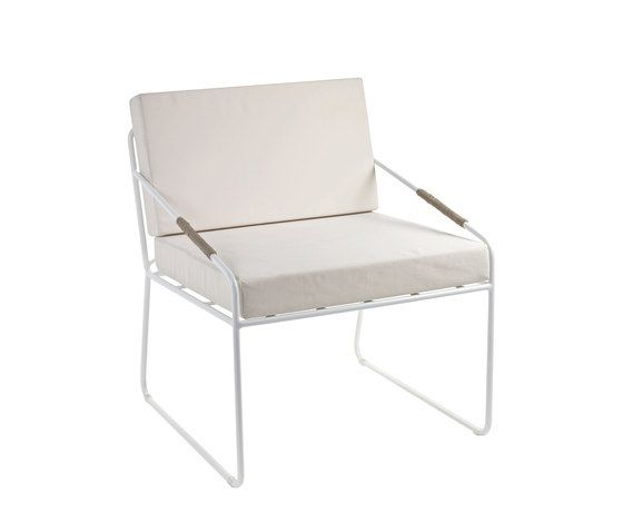 Colonel Seat and Cushion white by Serax by Serax