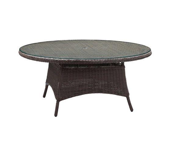 Colonial 170cm Round Table by Akula Living by Akula Living