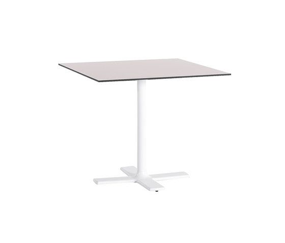 Colors square table 80 by Point by Point