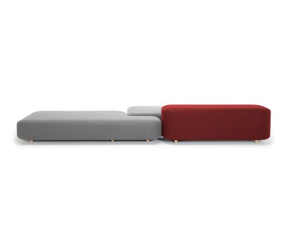 Common sofas   benches by viccarbe by viccarbe