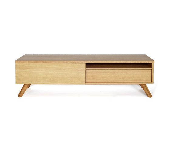 Cross media cabinet by Case Furniture by Case Furniture