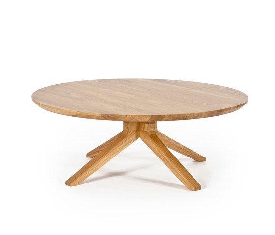Cross round coffee table by Case Furniture by Case Furniture