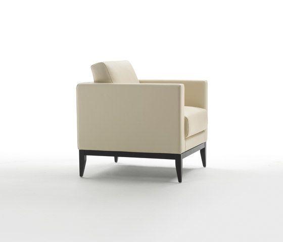 Cubic Wood Armchair by Giulio Marelli by Giulio Marelli