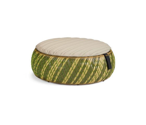 Dala Foot stool by DEDON by DEDON
