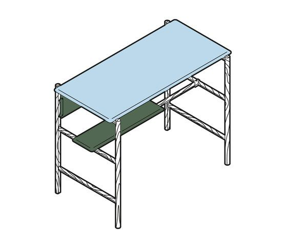 Dan Standing Desk by BULO by BULO