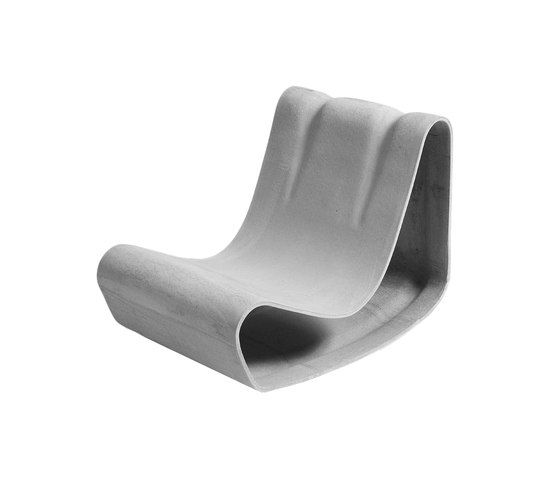 Design Guhl chair by Eternit (Schweiz) AG by Eternit (Schweiz) AG