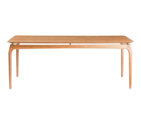 Dining Table 190 cm Oak Top by Red Edition by Red Edition