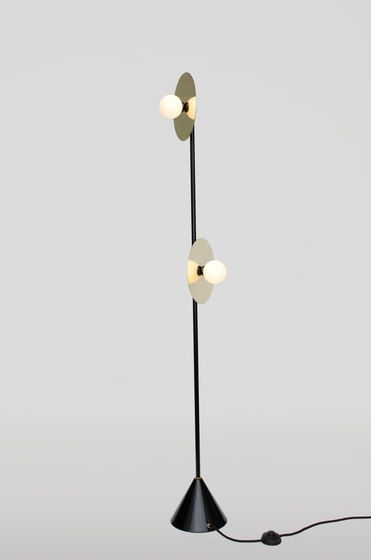 Disc and Sphere Floor Lamp by Atelier Areti by Atelier Areti