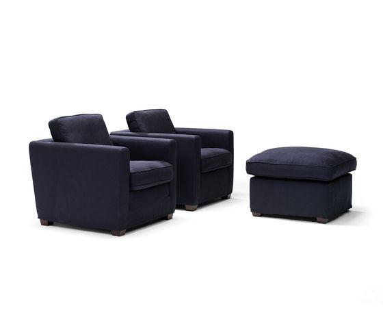 Easy Living armchair/footstool by Linteloo by Linteloo