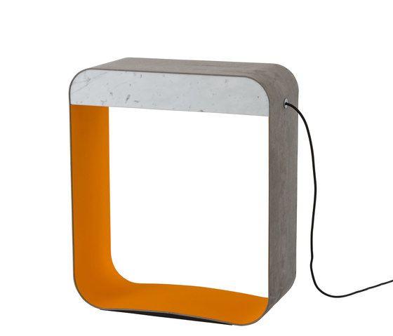 Eau de lumière Floor lamp Large Square by designheure by designheure
