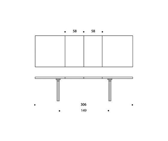 Extension Table H94 by Artek by Artek
