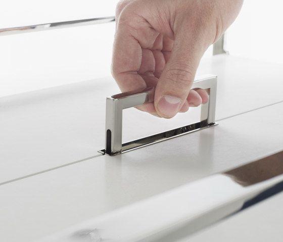 Flat Trolley table by Yomei by Yomei
