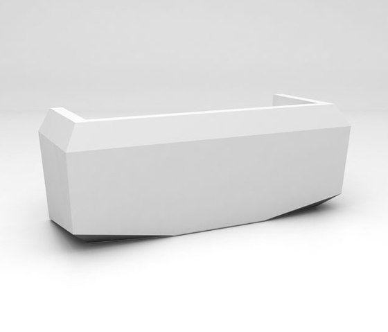 Fold Desk configuration 1 by isomi Ltd by isomi Ltd