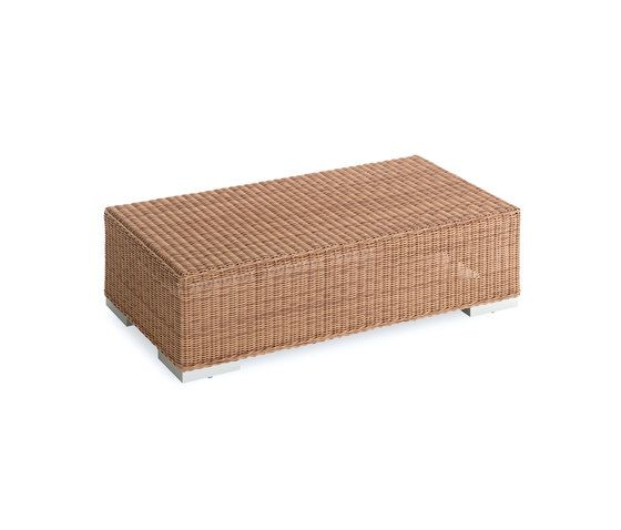 Green rectangular coffee table by Point by Point