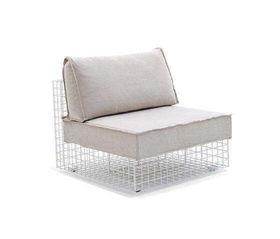 Grid urban style chair by Varaschin by Varaschin